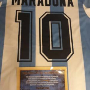 Maglia di Maradona