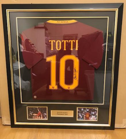 Maglia di Francesco Totti